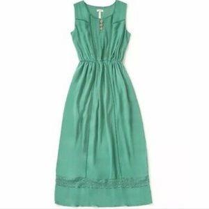 Matilda Jane Down in the Valley Dress Green Medium